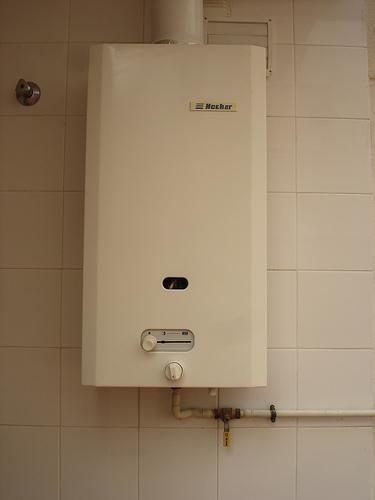 Calentador de agua a gas de ciudad, calentador a butano, clentador a gas natural
