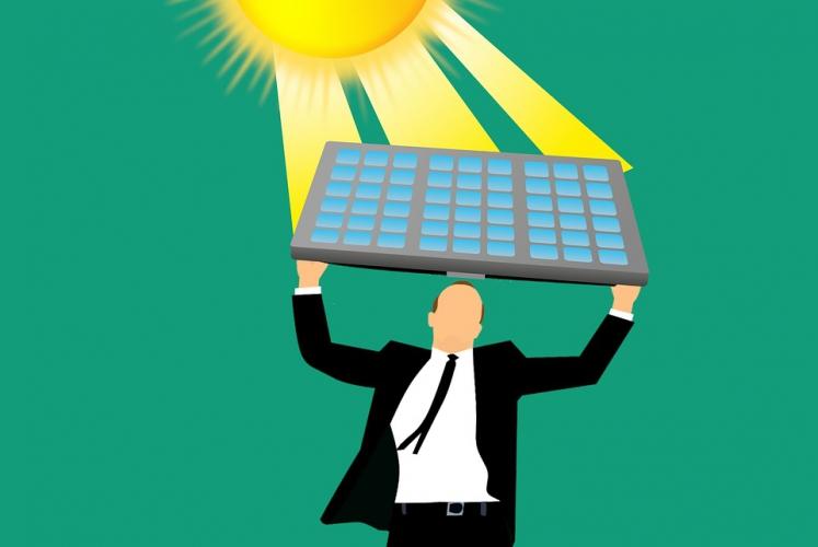 precio panel solar portátil