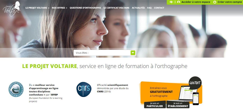 Interview du fondateur du projet et certificat Voltaire
