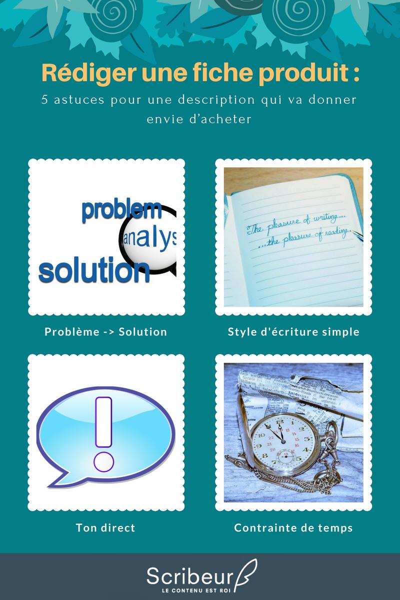 Rédiger une fiche produit : 5 astuces pour une description qui va donner envie d'acheter