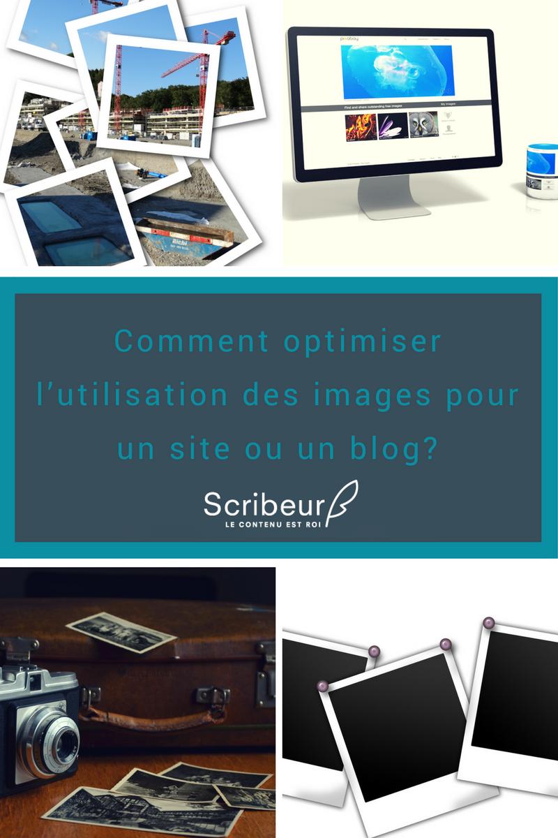 Comment optimiser l'utilisation des images pour un site web ou un blog?